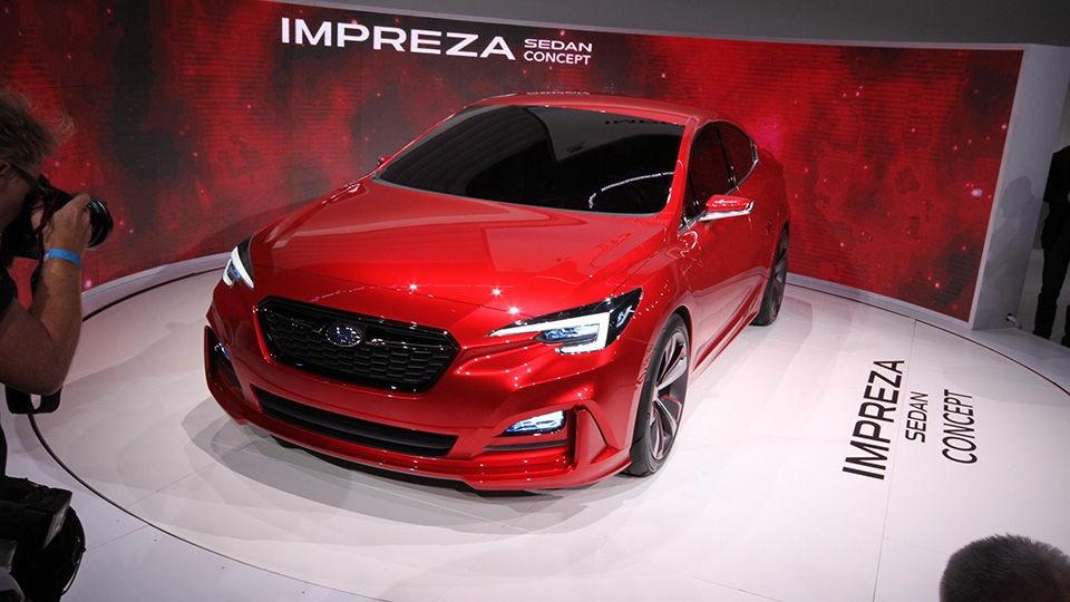 предвесник Subaru Impreza