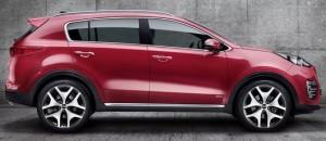 Kia Sportage 2016 цена в России