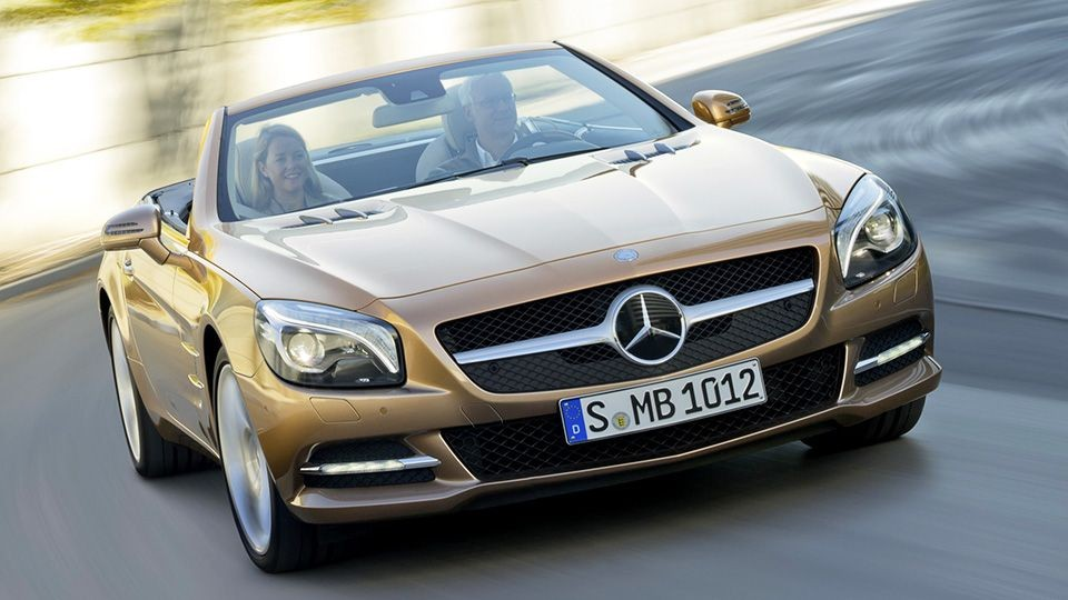 новый Mercedes-Benz SL