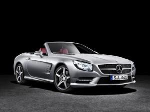 новый Mercedes-Benz SL
