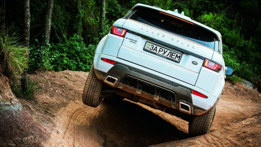 Range Rover Evoque тест драйв 2015