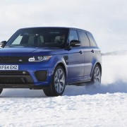 Range Rover Sport SVR тест драйв видео