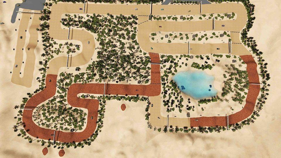 Внедорожник Sand Racer