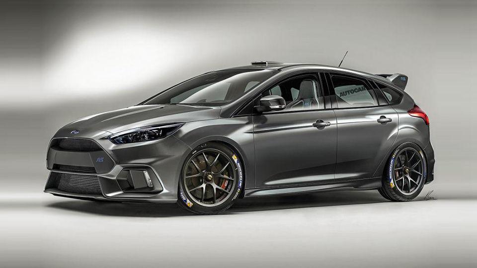новый Focus RS