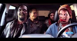 реклама Ford и зомби