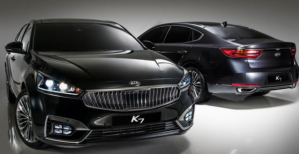 Kia Cadenza 2016 фото, комплектация, цена