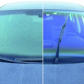 Автомобильный антиобледенитель стекол