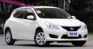 Nissan Tiida 2015 в России