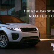 Реклама Range Rover Evoque 2015