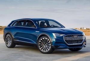 Audi e Tron Quattro водородная версия