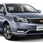 Geely Emgrand EC7 2015: старт продаж и цена в России