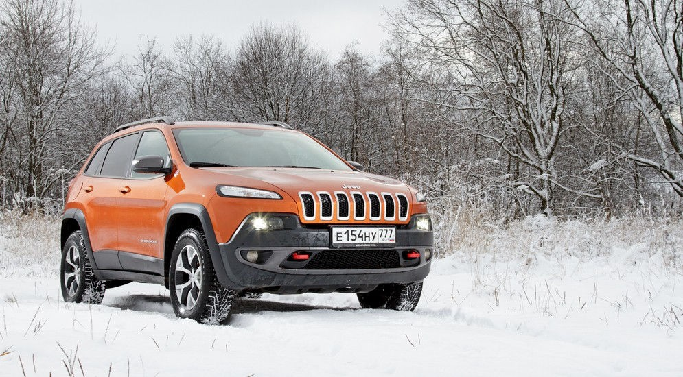 Jeep Cherokee Trailhawk цена и характеристики