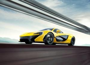 гибрид McLaren P1
