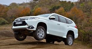 Mitsubishi Pajero Sport 2016 тест драйв