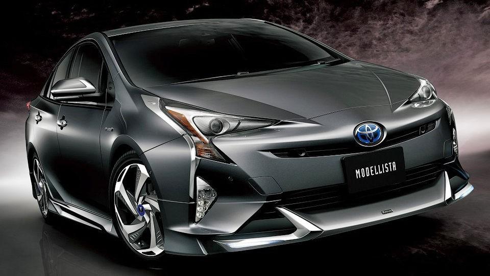 Новый агрессивный тюнинг Toyota Prius 2016