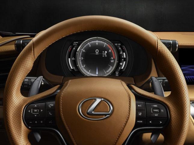 LEXUS LC 500: фото, характеристики, цена