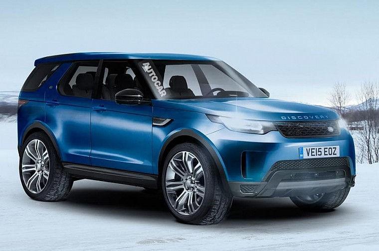 Land Rover Discovery 5 фото, характеристики и цена