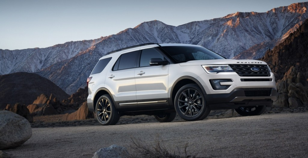 Ford Explorer XLT Sport Appearance Package 2017