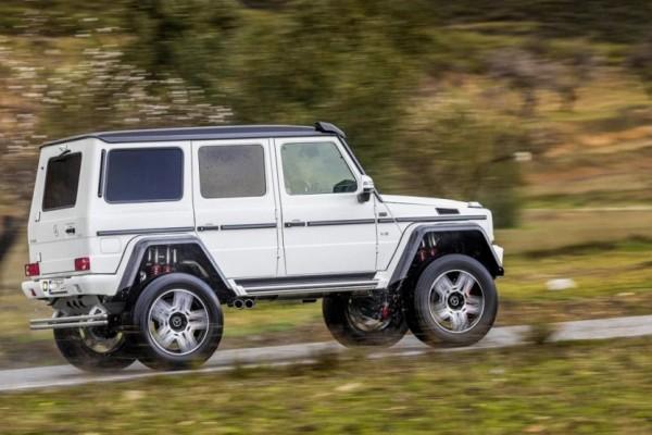Mercedes-Benz G500 4×4 (4)