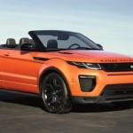 Range Rover Evoque Cabrio: старт продаж и цена в России
