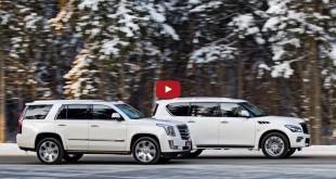 Cadillac Escalade и Infiniti QX80