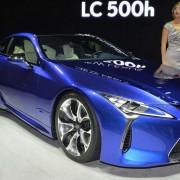 Lexus LC 500H: фото, характеристики