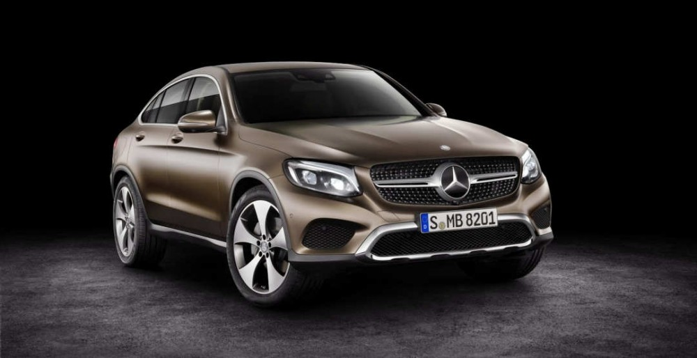 Mercedes-Benz GLC Coupe 2017