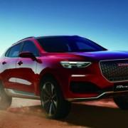 Компания Haval начала тестировать новый купеобразный SUV