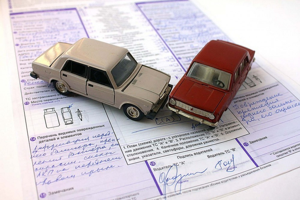 Штраф за вызов сотрудников ГИБДД на место незначительного ДТП увеличат в 2 раза