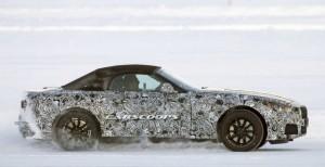 BMW Z4 проходит тесты на замерзшем озере