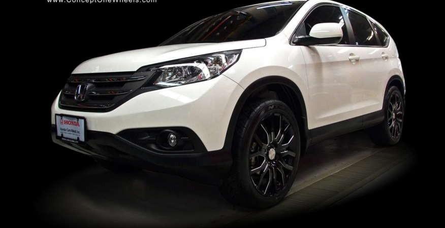 Honda CR-V пятого поколения показался на первых фото