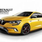 Новый RENAULT MEGANE RS получит полный привод