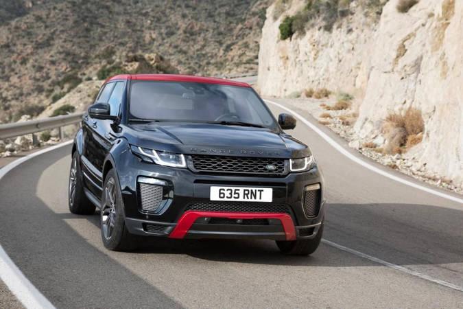 Range Rover Evoque 2017 с новым пакетом Ember Editon