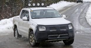 VOLKSWAGEN AMAROK 2017 проходит дорожные тесты в Швеции