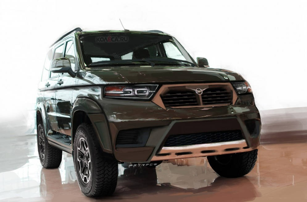 УАЗ 3170: первые подробности о новом автомобиле