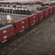 Тягач Вольво и 750 тонн за спиной