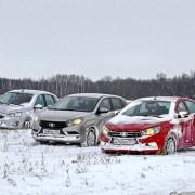 Журнал ЗР провел испытания холодом Lada Vesta, Lada Xray и Datsun mi-DO
