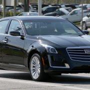 Cadillac CTS 2016 завершает дорожные испытания