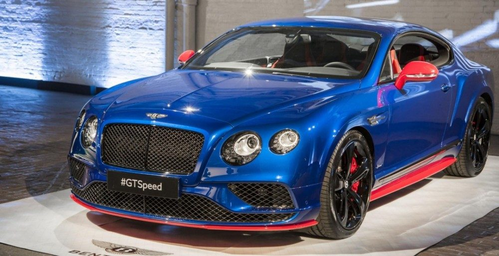 Continental GT Speed 2017