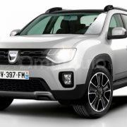 Dacia Duster 2018: первый фото-рендер
