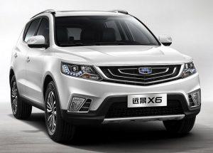 В Китае представлен Geely Emgrand X7: технические характеристики и фото
