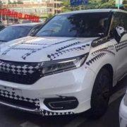 Honda Avancier 2017 впервые засветился на дорогах