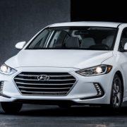 Hyundai Elantra Eco 2017 представлена официально