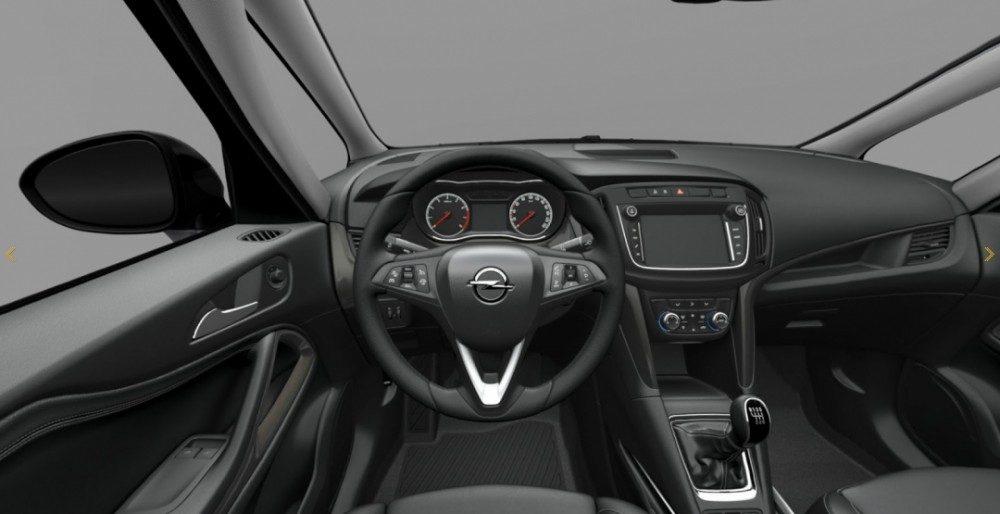 Опель Зафира 2017: новый кузов, фото и характеристики
