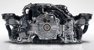 новый двигатель V8 Porsche