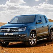 Volkswagen Amarok 2017 показал интерьер