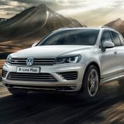 Volkswagen Touareg получил новый пакет R-Line Plus