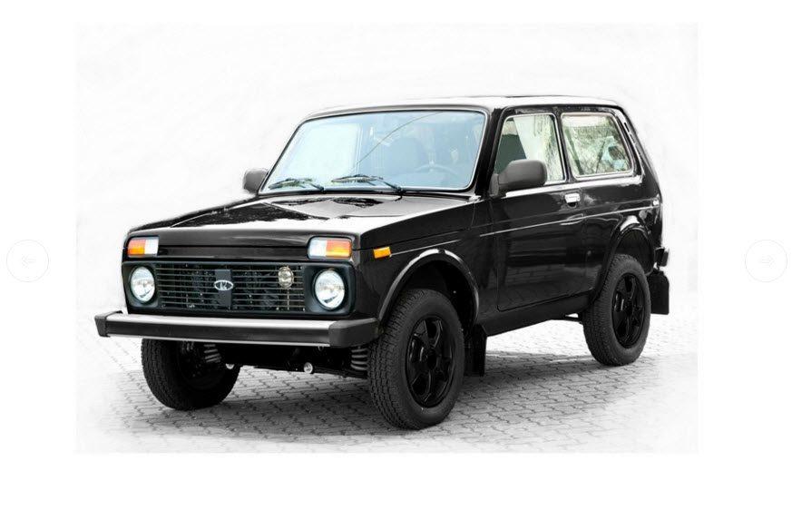 У Lada 4×4 появились новые версии Black и Orange Edition
