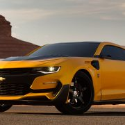 Chevrolet Camaro из «Трансформеров-5» показали публике