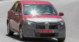 Dacia Logan 2017 модельного года попала в объектив шпионов